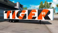 The Tiger skin on the trailer