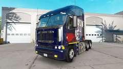 Skin Putin on the truck Freightliner Argosy