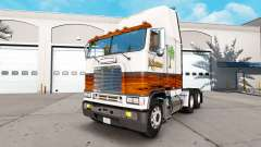 Skin Wood Shop for a tractor unit Freightliner F