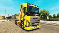Skin Dragon Ball Z for Volvo trucks