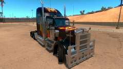 Kenworth W900 Guns and Roses Skin