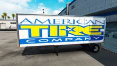 Skin American Tire on the trailer