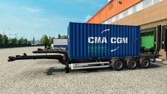 Semitrailer container v2.0