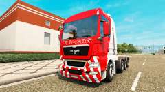MAN TGX 8x4 for Euro Truck Simulator 2
