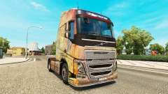 Skin on the Nebula Grunge Volvo trucks