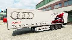 Skin Audi in the trailer