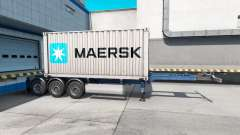 Semi-container ship Maersk
