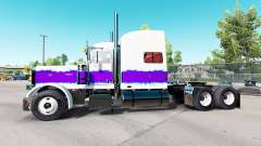 The Pearl skin for the truck Peterbilt 389