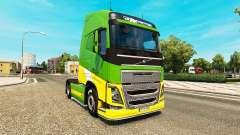 EAcres skin for Volvo truck