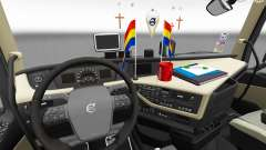 Updated interior Volvo FH