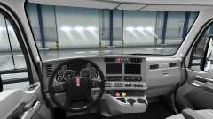 Redesigned the interior of the Kenworth T680