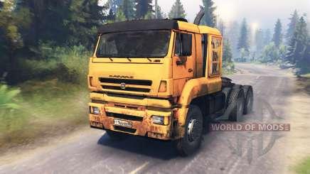 KamAZ-65226 v3.0 for Spin Tires