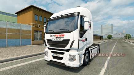 Skin Intermarket on the truck Iveco for Euro Truck Simulator 2