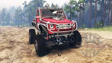 Mercedes-Benz G Bog Beast [03.03.16] for Spin Tires