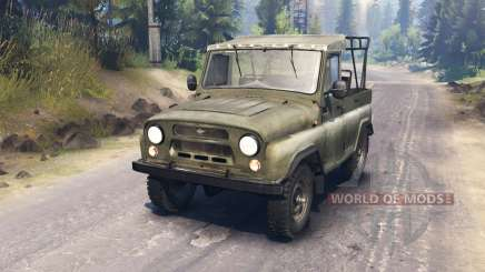 UAZ-3151 for Spin Tires