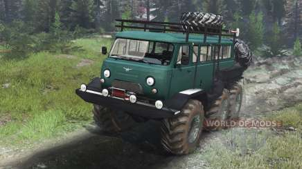 UAZ-3309 6x6 [03.03.16] for Spin Tires