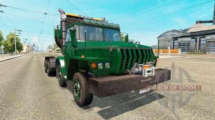 Ural-43202 for Euro Truck Simulator 2