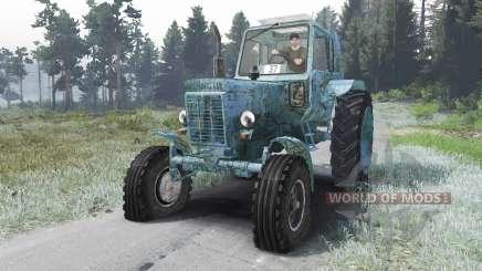 MTZ 80 Belarus [12.04.16] for Spin Tires