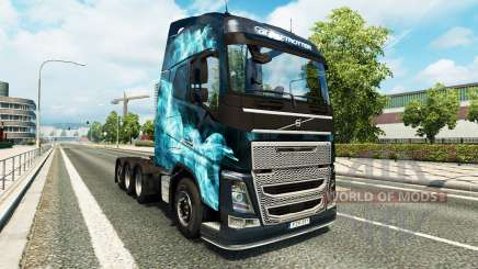 Volvo FH16 8x4 for Euro Truck Simulator 2