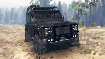 Land Rover Defender 90 Kahn 2013 for Spin Tires