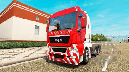 MAN TGX 8x4 for Euro Truck Simulator 2