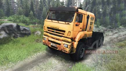 KamAZ-65226 [03.03.16] for Spin Tires