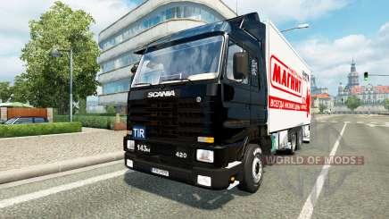 Scania 143M BDF for Euro Truck Simulator 2