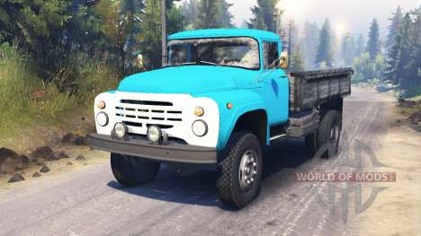 ZIL-130M for Spin Tires