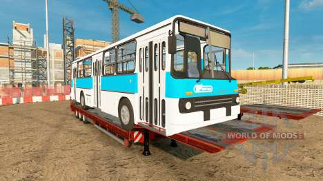 Low sweep with the bus Ikarus 260 for Euro Truck Simulator 2