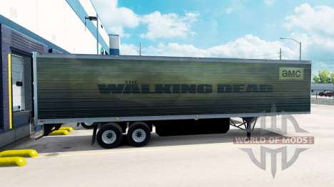 Skin Walking Dead on the trailer for American Truck Simulator