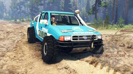Ford 4x4 for Spin Tires
