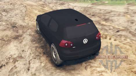 Volkswagen Golf V GTI 2006 for Spin Tires