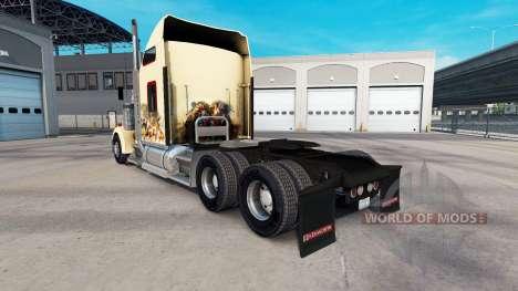 Skin Indian Spirit on the truck Kenworth W900 for American Truck Simulator