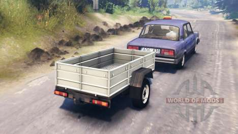 The VAZ-2105 for Spin Tires