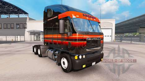 Skin on Outlaw truck Freightliner Argosy for American Truck Simulator