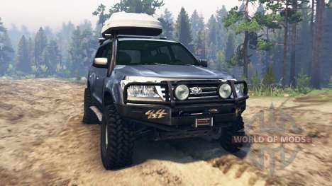 Toyota Land Cruiser 200 for Spin Tires