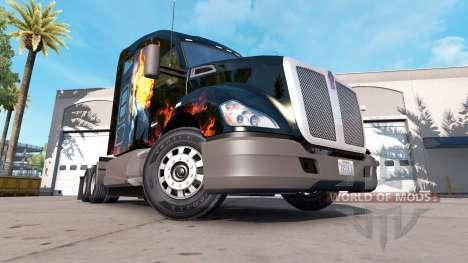 Joker skin for the Kenworth tractor for American Truck Simulator