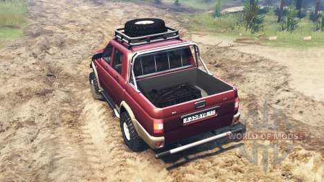 UAZ-2362 for Spin Tires