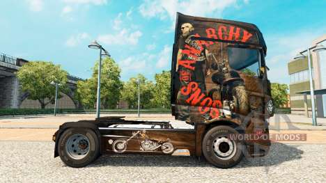 Skin Sons of Anarchy on tractor Scania R700 for Euro Truck Simulator 2