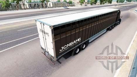 Skin JonBams on a Kenworth tractor for American Truck Simulator