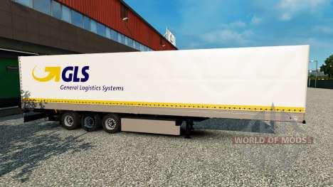 Standalone GLS trailer for Euro Truck Simulator 2