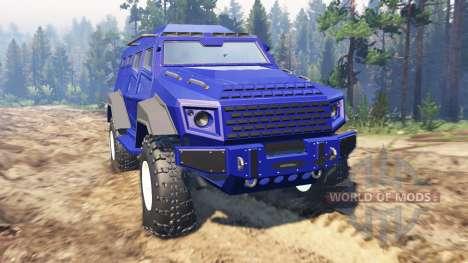 GTA V HVY Insurgent for Spin Tires