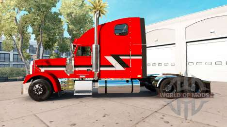 Skin Metallic on the truck Freightliner Classic  for American Truck Simulator