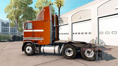 Skin Pure Vintage tractor Freightliner FLB for American Truck Simulator