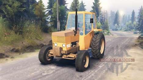Valmet 502 for Spin Tires