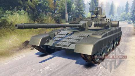 T-80A (Object 219A) for Spin Tires