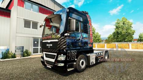 Skin Need For Speed Carbon for tractor MAN for Euro Truck Simulator 2