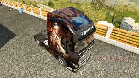 Egypt Queen skin for Volvo truck for Euro Truck Simulator 2