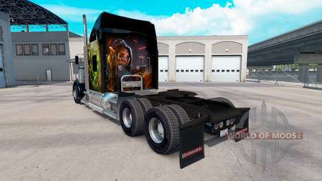Skin World of Warcraft on the truck Kenworth W90 for American Truck Simulator