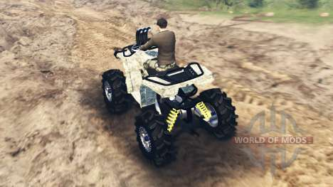 ATV Outlander for Spin Tires